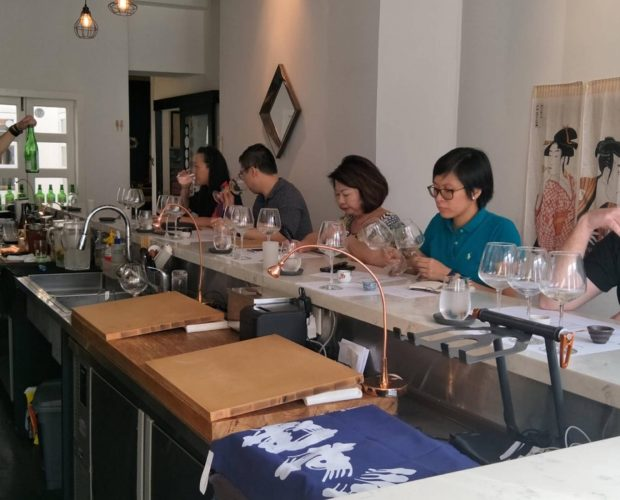 Singapore Sake Sommelier Association Introductory Sake Professional Course