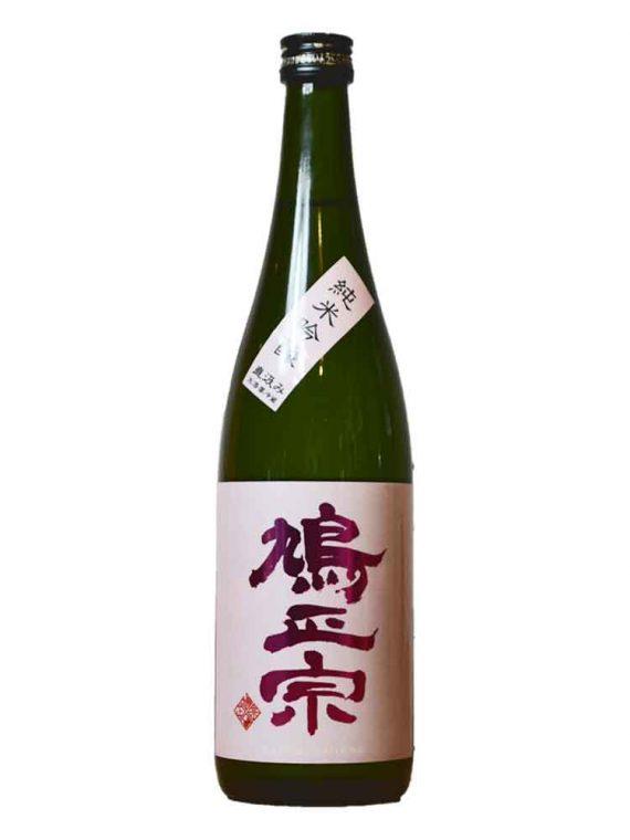 鳩正宗-純米吟醸-ピンク